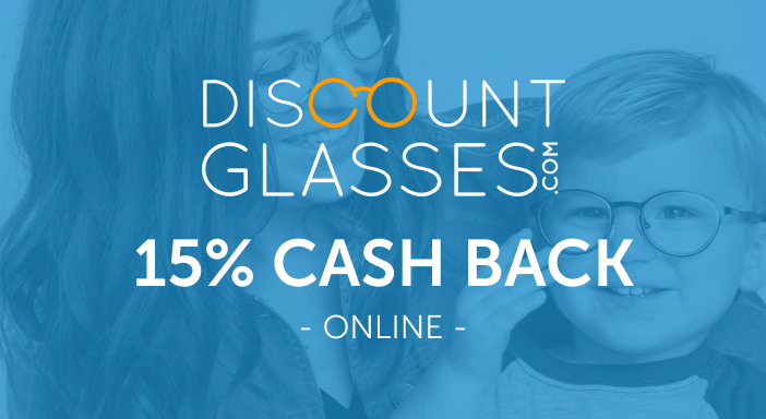 $0.00 for Discount Glasses (expiring on Monday, 04/19/2021). Offer available at Discount Glasses.