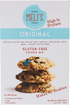 $1.00 for Meli's™ Monster Cookies Gluten-Free Dry Mixes (expiring on Friday, 07/31/2020). Offer available at multiple stores.