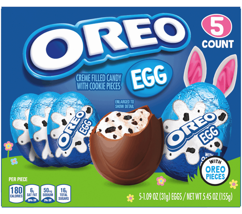 $0.75 for OREO Eggs (expiring on Saturday, 05/09/2020). Offer available at Walmart, Walmart Grocery.