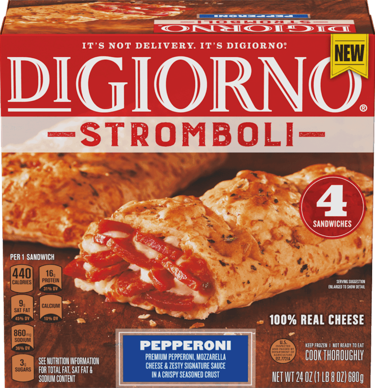 $1.50 for DiGiorno Stromboli (expiring on Sunday, 08/02/2020). Offer available at Walmart, Hy-Vee.