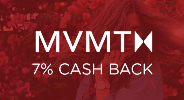 $0.00 for MVMT (expiring on Monday, 06/01/2020). Offer available at MVMT.