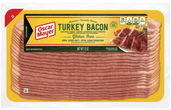 $0.75 for Oscar Mayer Turkey Bacon (expiring on Thursday, 04/09/2020). Offer available at multiple stores.
