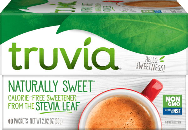 $2.00 for Truvia® Stevia Sweetener. Offer available at Walmart.