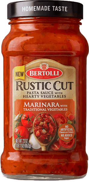 $1.00 for Bertolli® Rustic Cut Pasta Sauce (expiring on Wednesday, 02/28/2018). Offer available at Publix.