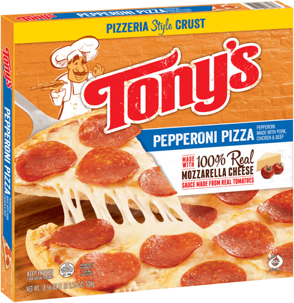 $1.00 for TONY'S® Pizzeria Style Pizza. Offer available at Walmart.