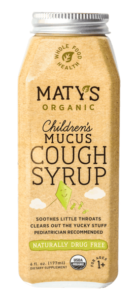 $2.00 for Maty's Organic Children's Cough Syrups (expiring on Sunday, 06/09/2019). Offer available at Walmart.