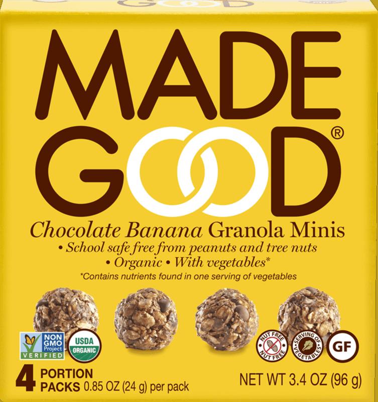 $1.00 for MadeGood® Granola Minis Portion Packs (expiring on Monday, 03/02/2020). Offer available at CVS Pharmacy.