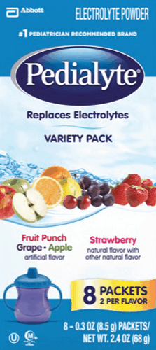 $2.00 for Pedialyte® Electrolyte Powder. Offer available at Walmart.