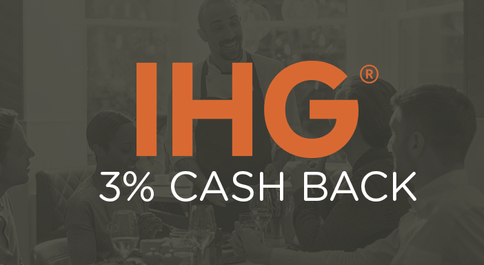 $0.00 for Intercontinental Hotels Group (expiring on Saturday, 02/29/2020). Offer available at InterContinental Hotels Group.
