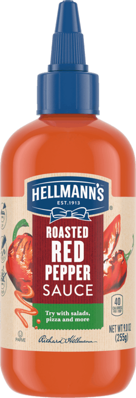 $1.00 for Hellmann's Roasted Red Pepper Sauce (expiring on Thursday, 04/01/2021). Offer available at multiple stores.