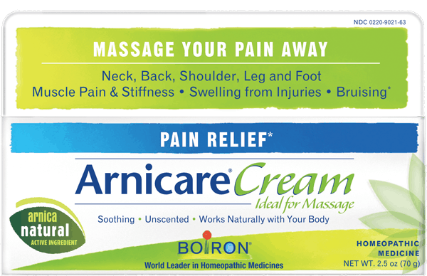 $1.00 for Boiron® Arnicare® Cream (expiring on Wednesday, 08/01/2018). Offer available at Target, CVS Pharmacy.