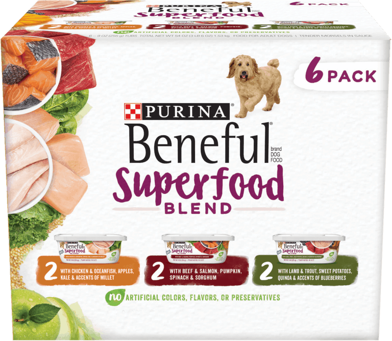 $2.00 for PURINA Beneful Wet Dog Food (expiring on Sunday, 08/02/2020). Offer available at multiple stores.