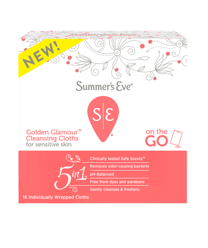 $1.00 for Summer's Eve Individually Wrapped Feminine Cleansing Cloths. Offer available at Walmart, Walmart Grocery.