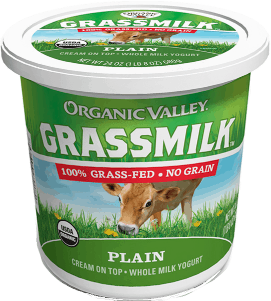 $0.75 for Organic Valley® Multi-Serve Grassmilk Yogurt (expiring on Thursday, 05/02/2019). Offer available at multiple stores.