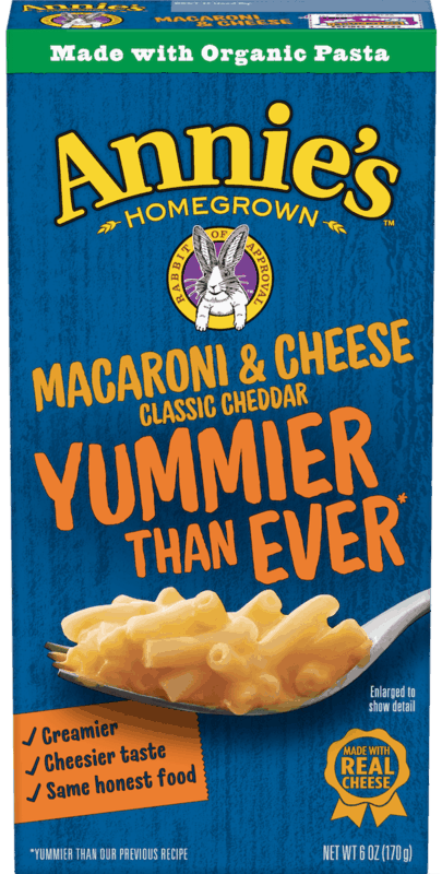 $0.25 for Annie's™ Macaroni & Cheese (expiring on Wednesday, 12/11/2019). Offer available at Target.