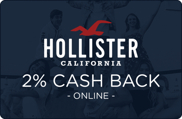 $0.00 for Hollister (expiring on Friday, 03/01/2019). Offer available at Hollister.