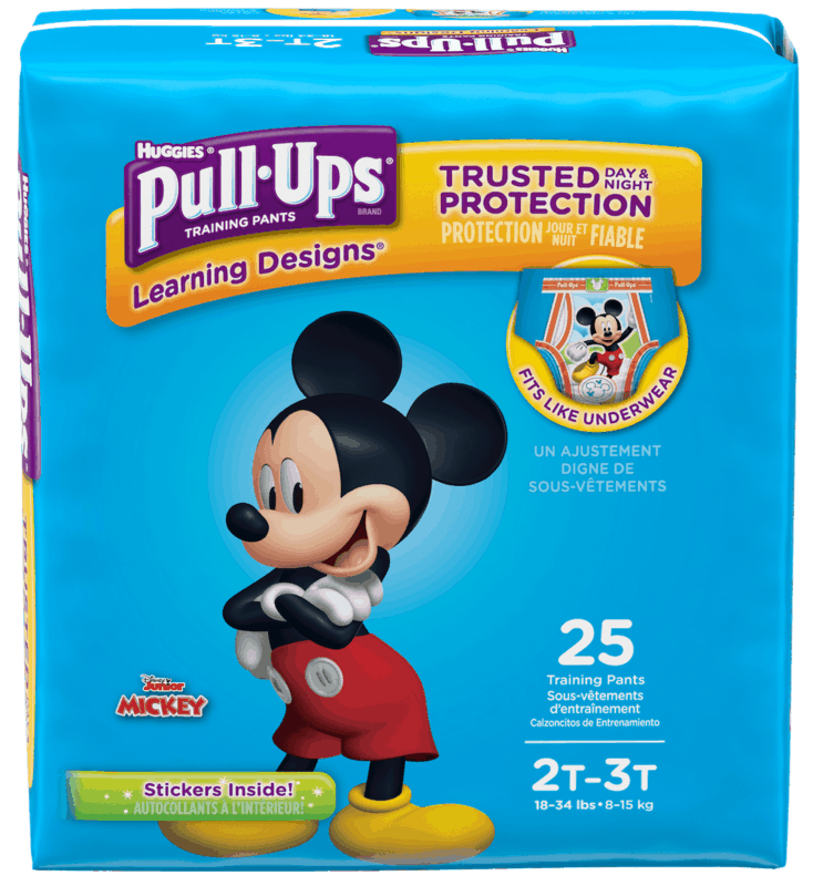 $1.25 for HUGGIES Pull-Ups (expiring on Thursday, 07/02/2020). Offer available at Walmart.