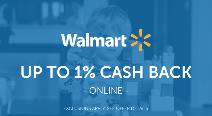 $0.00 for Walmart.com - Cash Back Varies by Category (expiring on Thursday, 03/31/2022). Offer available at Walmart.com.