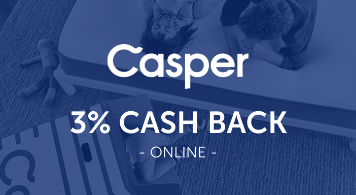 $0.00 for Casper (expiring on Friday, 10/31/2025). Offer available at Casper.