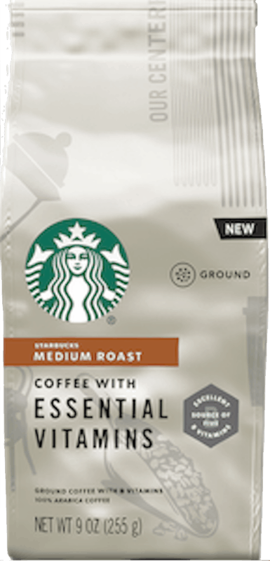$2.00 for Starbucks Ground Coffee with Essential Vitamins (expiring on Wednesday, 09/02/2020). Offer available at multiple stores.