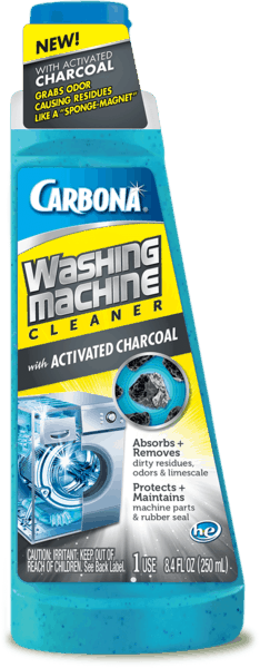 $1.00 for Carbona® Washing Machine Cleaner with Activated Charcoal (expiring on Wednesday, 01/02/2019). Offer available at multiple stores.