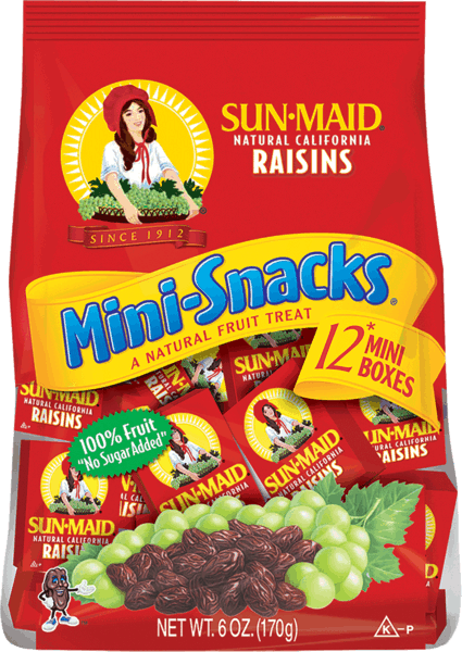 $0.50 for Sun-Maid® Raisins (expiring on Wednesday, 10/02/2019). Offer available at multiple stores.