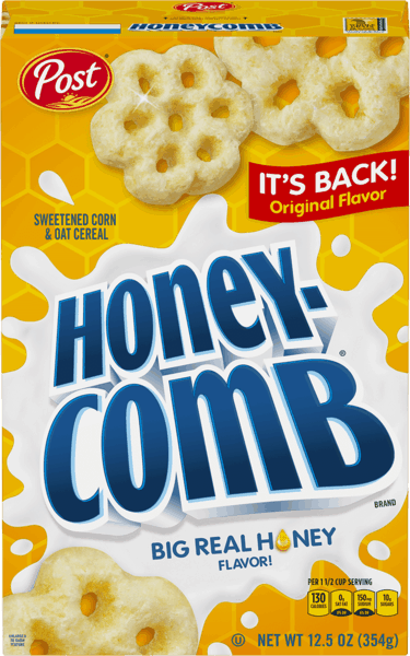 $0.50 for Post® Honeycomb® Classic (expiring on Thursday, 03/07/2019). Offer available at WinCo Foods.