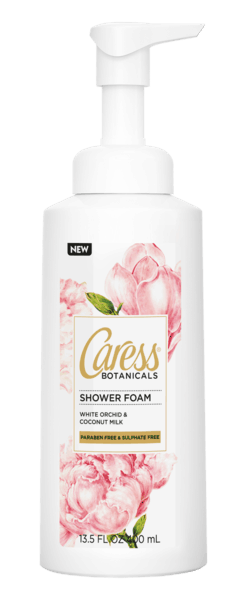 $2.00 for Caress® Shower Foam. Offer available at multiple stores.