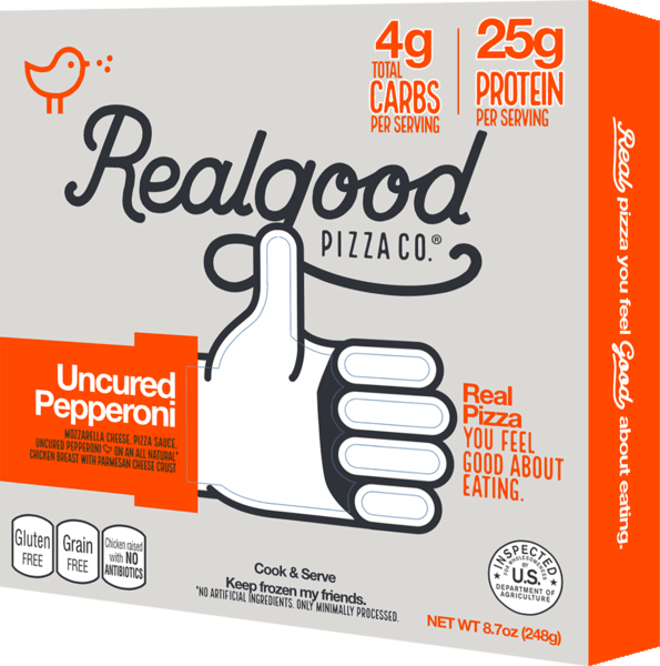 $1.50 for Real Good Foods® Low Carb Pizza (expiring on Friday, 08/02/2019). Offer available at Walmart.