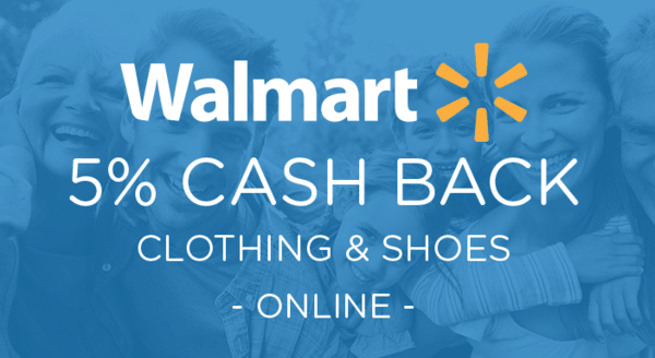$0.00 for Walmart.com Clothing & Shoes (expiring on Saturday, 09/22/2018). Offer available at Walmart.com.