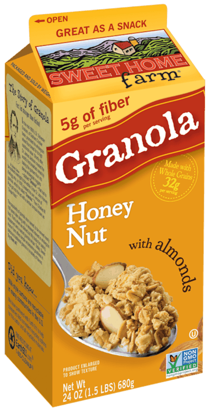 $1.00 for Sweet Home Farm® Granola (expiring on Thursday, 04/02/2020). Offer available at WinCo Foods.