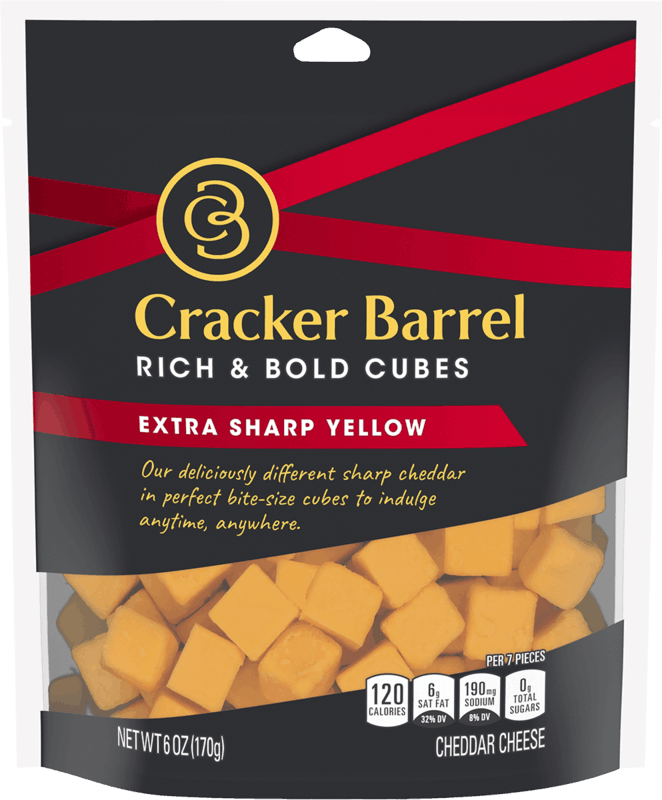 $1.00 for Cracker Barrel Cheese Cubes (expiring on Sunday, 05/31/2020). Offer available at multiple stores.