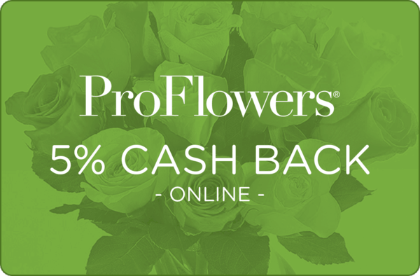 $0.00 for ProFlowers (expiring on Wednesday, 07/03/2019). Offer available at ProFlowers.com.