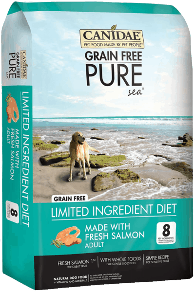 $5.00 for CANIDAE® Grain Free PURE Dog Food (expiring on Saturday, 09/22/2018). Offer available at Petco.