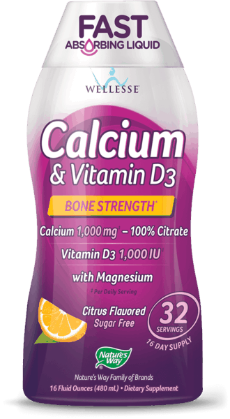 $1.00 for Nature's Way® Wellesse® Calcium & Vitamin D3 (expiring on Saturday, 09/01/2018). Offer available at Walmart.