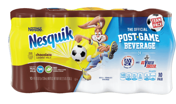 $2.00 for NESTLÉ® NESQUIK® Ready To Drink Flavored Milk. Offer available at Publix.