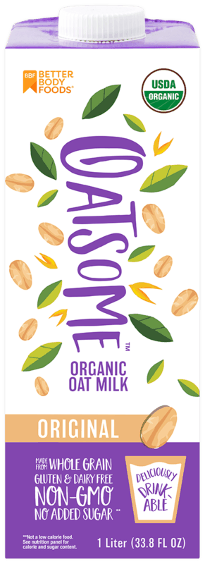 $0.50 for Oatsome Organic Oat Milk (expiring on Wednesday, 08/05/2020). Offer available at multiple stores.