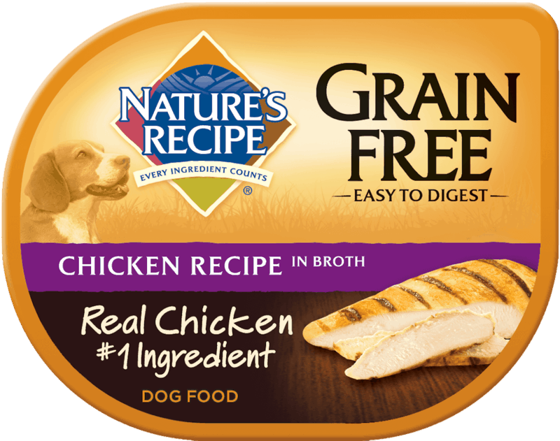 $0.50 for Nature's Recipe Wet Dog Food (expiring on Thursday, 06/18/2020). Offer available at PetSmart.