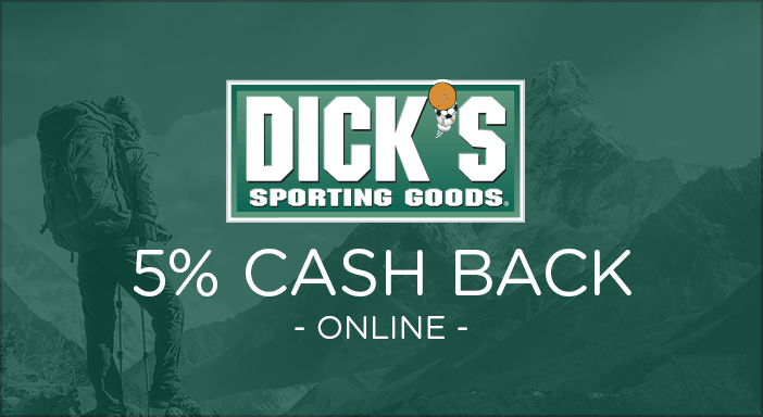 $0.00 for Dick's Sporting Goods (expiring on Tuesday, 08/20/2019). Offer available at DicksSportingGoods.com.
