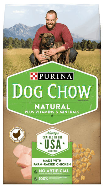 $1.00 for PURINA® Dog Chow® (expiring on Saturday, 06/02/2018). Offer available at multiple stores.