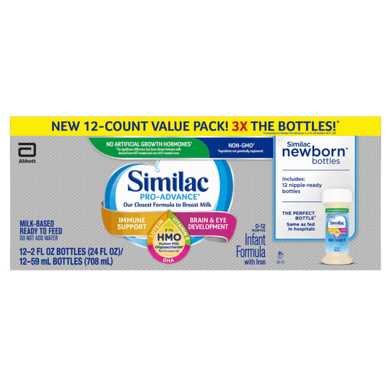 $2.00 for Similac Newborn Ready-to-Feed Bottles (expiring on Saturday, 10/31/2020). Offer available at multiple stores.