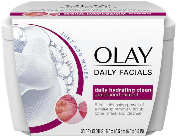 $2.00 for Olay Daily Facials. Offer available at multiple stores.