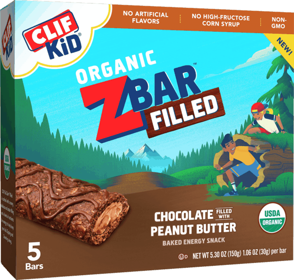 $1.00 for CLIF Kid Zbar® Filled (expiring on Thursday, 05/02/2019). Offer available at multiple stores.