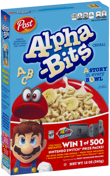 $0.30 for Alpha-Bits® (expiring on Saturday, 06/02/2018). Offer available at multiple stores.