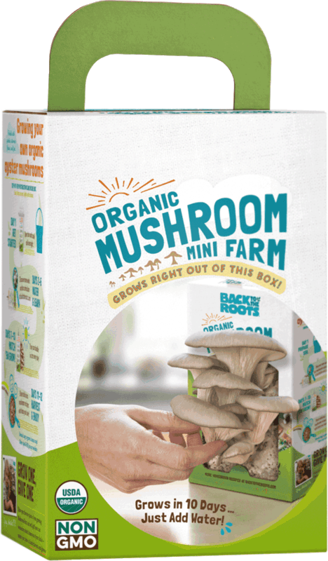 $6.00 for Back to the Roots® Organic Mushroom Mini Farm. Offer available at Target.