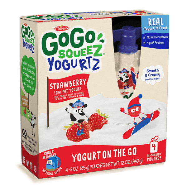 $0.75 for GoGo squeeZ® YogurtZ (expiring on Friday, 08/02/2019). Offer available at multiple stores.
