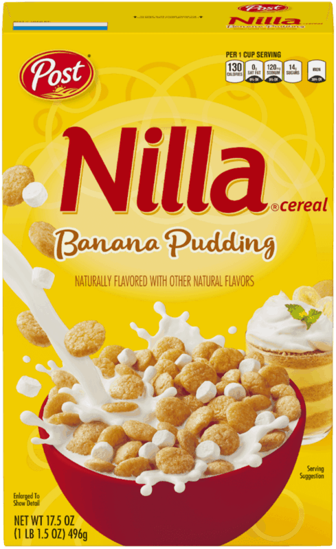 $0.50 for Nilla® Banana Pudding Cereal. Offer available at Walmart.
