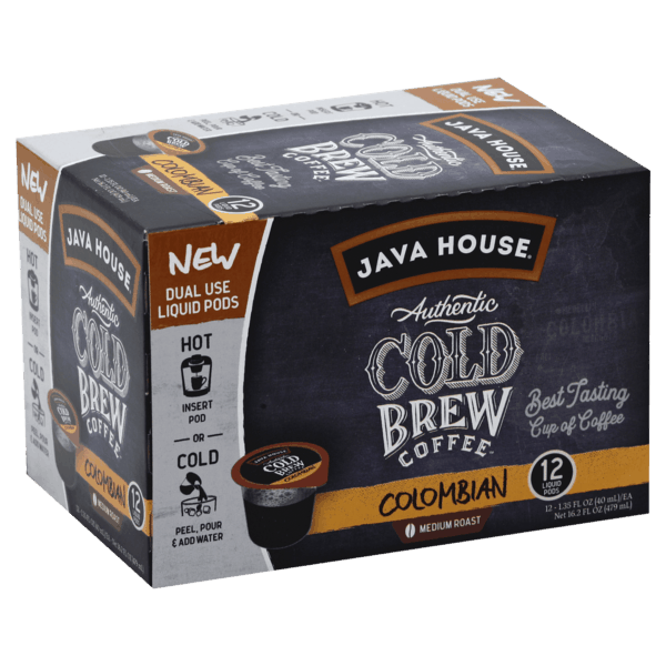 $4.00 for JAVA HOUSE® Cold Brew Coffee (expiring on Tuesday, 08/13/2019). Offer available at Target.