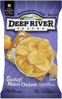 $0.50 for Deep River Snacks® Kettle Chips. Offer available at multiple stores.