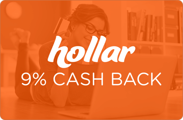$0.00 for Hollar (expiring on Sunday, 10/22/2017). Offer available at Hollar.